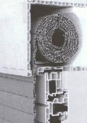 opbouwrolluik constructie
